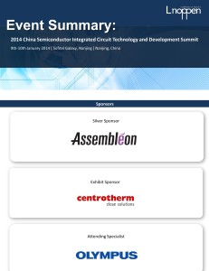 L1328 China Semiconductor Integrated Circuit Technology & Development Summit1