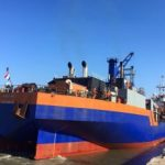 The dredging operations on the access channel to the Port of Maputo have received a major boost with the arrival of the Van Oord's trailing suction hopper dredger (TSHD) HAM 310. The Jan De Nul's TSHD De Lapérouse, which started the channel dredging work on May 21, is currently working 24/7 in this area to ensure a fast and efficient work. Several dredgers and supporting equipment have also been mobilized for this dredging scheme.