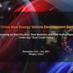 "With the rapid development of China's economy, the car ownership in China is soaring. It makes China an important petroleum importer, and at the same time environmental pollution problem has accelerated the development of the new energy vehicles industry. China's new energy vehicle sales volume increased year by year, but there are still obstacles such as short range, poor charging conditions, and safety etc. Thanks to the supporting policies in China, China's new energy vehicles are actively broadening the application field and speeding up the large-scale production.In order to deepen the understanding of the policy orientation and the trend of the new energy vehicle industry in China, and to accurately grasp the present situation and technology updates of this industry, ""5th China New Energy Vehicle Development Summit"" will be held on November 2nd – 3rd, 2017 in Ningbo, China. It will gather relevant government, national and international automotive OEMs, spare parts and materials suppliers, etc to discuss the latest development strategy under the background of ""Dual Credit Policy"", exchange the latest electric motor, electric control and battery technology, understand the development trend of intelligent automobiles and other hot topics, so as to find the best business partners."