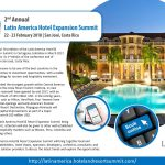After a successful first edition of the Latin America Hotel & Resort Expansion Summit in Cartagena, Colombia in March 2017, Lnoppen will host its 2ndedition of the conference end of February 2018 in San José, Costa Rica. Costa Rica has proven to be one of the best countries in the region when it comes to investment opportunities, with a stable government pushing for tourism and hospitality investment.  Costa Rica recorded the strongest growth within Central America and according to the Costa RicanTourismInstitute, 11 new hotels with 696 rooms will have opened by end 2017, with an estimated investment of 149 million USD. In the coming years, big hotel chains such as Hilton, Hard Rock, Four Seasons have several more hotel openings and Latin America's Premier Residential and Resort Destination, Papagayo Peninsula will undergo initial capital improvements as part of a major transformation worth 100 million USD.  Ofcourse, the Latin America Hotel & Resort Expansion Summit being a regional summit, attention will also be given to other well established and upcoming hospitality markets such as Mexico, Peru, Colombia and Argentina, among others.  The 2nd Latin America Hotel & Resort Expansion Summit will bring together local and international stakeholders, hotel chains, operators, developers, architects, consultants and equipment plus solution providers to discuss the latest trends and explore the opportunities.