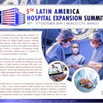 The 5th Latin America Hospital Expansion Summit will be hosted on 10 and 11 October 2019 in Mexico City, Mexico. The country is budgeting around 56.200 USD million for federal health programs including infrastructure investment projects, 4.500 USD million for supply of medicines and medical equipment. It is the country with the most efficient health system in Latin America, according to Bloomberg