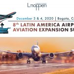 The air sector in Latin America is growing in terms of passenger volume: 28.7 million passengers till July2019, 4.5% up from 2018. Countries with the largest volumes are Mexico, Brazil, Colombia, Argentina,Peru and Panama. It is estimated that the airport sector in the region should invest 55 billion dollarsby 2040. These investments will focus on airportinfrastructure, such as the expansion, remodeling and modernization of existing facilities and the construction of new airports. Colombia is ranked 4thglobally in terms of projection in air sector growth for the next 20 years. The country`s airport sectoris expected to contribute heavily to the connectivity boost that the government needs to work on. The 8th Latin American Airport and Aviation Expansion Summit will bring together governmentofficials, investors, civil aviation authorities,airlines, airports, airport management groups andground assistance companies, companies of MROand FBO to discuss with consultants, integrators,distributors, architects, EPCs, equipment suppliersand banks, to improve the aviation and airport sector in Latin America, and find new business partners.